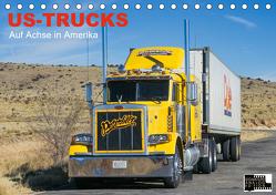 US-Trucks – Auf Achse in Amerika (Tischkalender 2020 DIN A5 quer) von Meißner,  Daniel