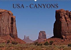USA – Canyons (Wandkalender 2018 DIN A2 quer) von Schauer,  Petra