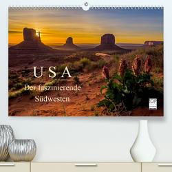 USA Der faszinierende Südwesten (Premium, hochwertiger DIN A2 Wandkalender 2020, Kunstdruck in Hochglanz) von Genser,  Karl