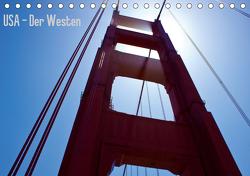 USA – Der Westen (Tischkalender 2021 DIN A5 quer) von Rütten,  Martin