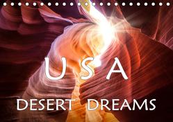 USA Desert Dreams (Tischkalender 2019 DIN A5 quer) von Jerneizig,  Oliver