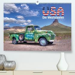 USA – Die Weststaaten (Premium, hochwertiger DIN A2 Wandkalender 2021, Kunstdruck in Hochglanz) von Matziol,  Michael