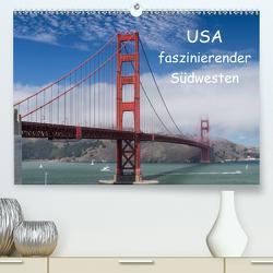 USA – faszinierender Südwesten / CH-Version (Premium, hochwertiger DIN A2 Wandkalender 2021, Kunstdruck in Hochglanz) von Potratz,  Andrea