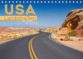 USA Landstraßen (Tischkalender 2019 DIN A5 quer) von Viola,  Melanie