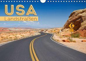 USA Landstraßen (Wandkalender 2019 DIN A4 quer) von Viola,  Melanie