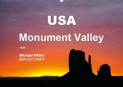 USA – Monument Valley (Wandkalender 2019 DIN A2 quer) von Weber,  Michael