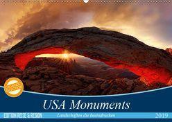 USA Monuments – Landschaften die beeindrucken (Wandkalender 2019 DIN A2 quer)