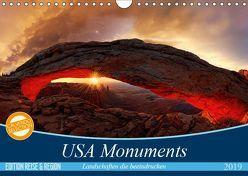 USA Monuments – Landschaften die beeindrucken (Wandkalender 2019 DIN A4 quer)