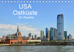 USA Ostküste Ein Road Trip (Tischkalender 2019 DIN A5 quer) von N.,  N.
