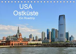 USA Ostküste Ein Road Trip (Tischkalender 2020 DIN A5 quer) von N.,  N.