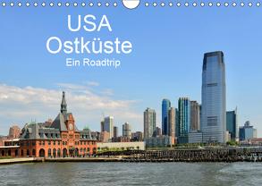USA Ostküste Ein Road Trip (Wandkalender 2019 DIN A4 quer) von N.,  N.