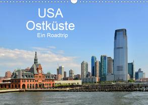 USA Ostküste Ein Road Trip (Wandkalender 2020 DIN A3 quer) von N.,  N.