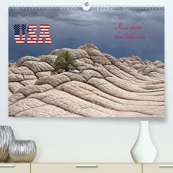 USA – Reise durch den Südwesten (Premium, hochwertiger DIN A2 Wandkalender 2021, Kunstdruck in Hochglanz) von Kuhn,  Judith