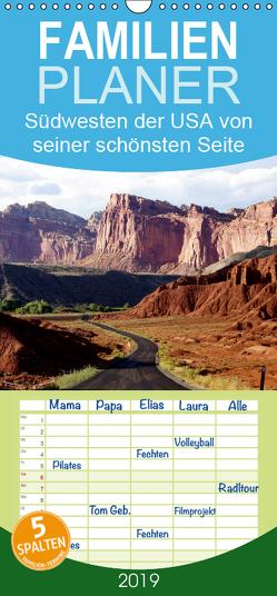 USA-Südwesten von seiner schönsten Seite 2019 – Familienplaner hoch (Wandkalender 2019 , 21 cm x 45 cm, hoch) von Döbler,  Christian