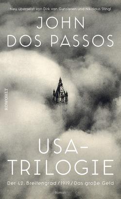 USA-Trilogie von Dos Passos,  John, Gunsteren,  Dirk van, Stingl,  Nikolaus