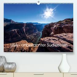USA – unbekannter Südwesten (Premium, hochwertiger DIN A2 Wandkalender 2020, Kunstdruck in Hochglanz) von Schöb,  Monika