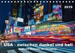 USA – Zwischen dunkel und hell (Tischkalender 2019 DIN A5 quer) von Hans Steffl,  Mike