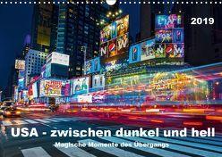 USA – Zwischen dunkel und hell (Wandkalender 2019 DIN A3 quer) von Hans Steffl,  Mike