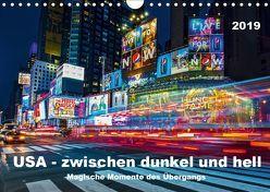 USA – Zwischen dunkel und hell (Wandkalender 2019 DIN A4 quer) von Hans Steffl,  Mike