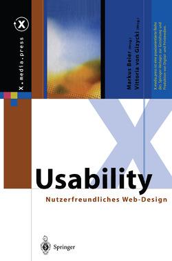 Usability von Beier,  Markus, Gizycki,  Vittoria von