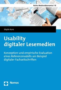 Usability digitaler Lesemedien von Kunz,  Sibylle