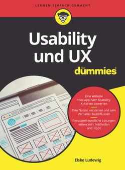 Usability und UX für Dummies von Ludewig,  Elske