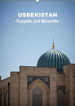 Usbekistan – Kuppeln und Minaretten – (Wandkalender 2018 DIN A2 hoch) von Dobrindt,  Jeanette