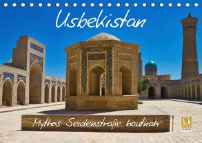 Usbekistan Mythos Seidenstraße hautnah (Tischkalender 2020 DIN A5 quer) von Kurz,  Michael