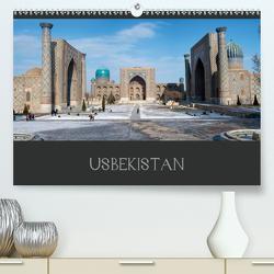 Usbekistan (Premium, hochwertiger DIN A2 Wandkalender 2021, Kunstdruck in Hochglanz) von Breig,  Markus