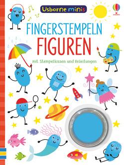 Usborne Minis: Fingerstempeln Figuren von Addison,  Jenny, Smith,  Sam