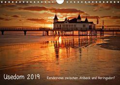 Usedom 2019 Rendezvous zwischen Ahlbeck und Heringsdorf (Wandkalender 2019 DIN A4 quer) von Knuth,  Marko
