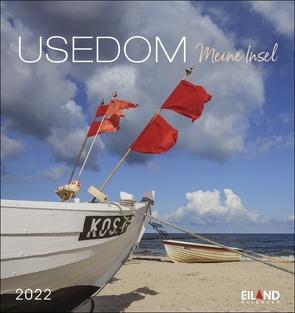 Usedom Postkartenkalender 2022 von Eiland