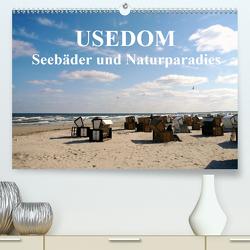 USEDOM – Seebäder und Naturparadies (Premium, hochwertiger DIN A2 Wandkalender 2021, Kunstdruck in Hochglanz) von Art-Motiva