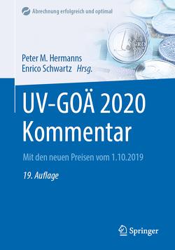 UV-GOÄ 2020 Kommentar von Hermanns,  Peter M., Schwartz,  Enrico