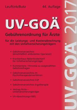UV-GOÄ Gebührenordnung für Ärzte für die Leistungs- und Kostenabrechnung mit den Unfallversicherungsträgern incl. Abrechnungsfibel + CD von Leuftink,  Detlef