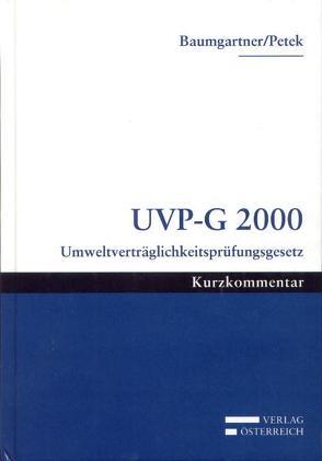 UVP-G 2000 von Baumgartner,  Christian, Petek,  Waltraud