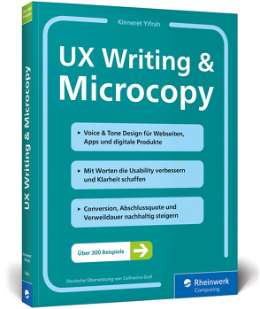 UX Writing & Microcopy von Yifrah,  Kinneret