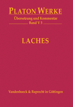 V 3 Laches von Hardy,  Jörg, Platon