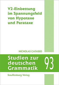 V2-Einbettung im Spannungsfeld von Hypotaxe und Parataxe von Catasso,  Nicholas