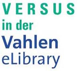 Vahlen eLibrary Paket «Versus Allgemeine BWL 2020»