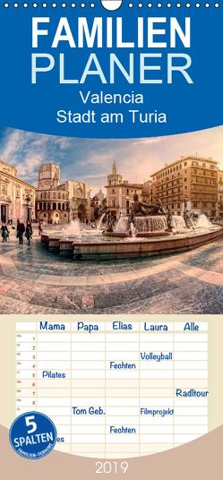 Valencia – Stadt am Turia – Familienplaner hoch (Wandkalender 2019 , 21 cm x 45 cm, hoch) von Photography,  Hessbeck