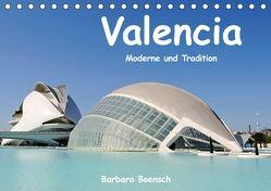 Valencia (Tischkalender 2018 DIN A5 quer) von Boensch,  Barbara