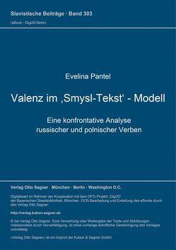Valenz im ,Smysl-Tekst'-Modell von Pantel,  Evelina