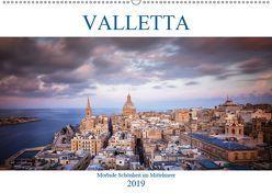 Valletta – Morbide Schönheit im Mittelmeer (Wandkalender 2019 DIN A2 quer) von Weck,  Dieter