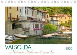Valsolda. Malerische Dörfer am Luganer See (Tischkalender 2020 DIN A5 quer) von M. Laube,  Lucy