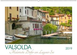 Valsolda. Malerische Dörfer am Luganer See (Wandkalender 2019 DIN A2 quer) von M. Laube,  Lucy
