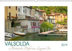 Valsolda. Malerische Dörfer am Luganer See (Wandkalender 2019 DIN A3 quer) von M. Laube,  Lucy