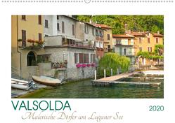 Valsolda. Malerische Dörfer am Luganer See (Wandkalender 2020 DIN A2 quer) von M. Laube,  Lucy