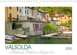 Valsolda. Malerische Dörfer am Luganer See (Wandkalender 2020 DIN A4 quer) von M. Laube,  Lucy