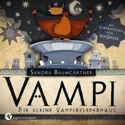 Vampi – Die kleine Vampirfledermaus von Baumgärtner,  Sandra, Daut,  Tom, Papierverzierer Verlag